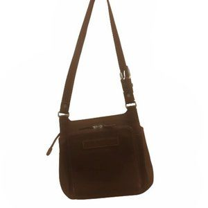Vintage Fossil '1954' Classic #75082 Leather Bag
